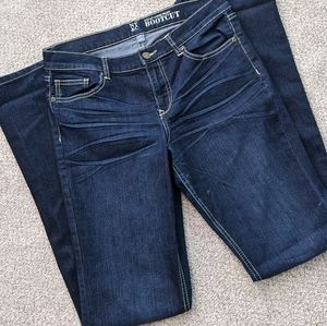 New York & Company Dark Wash Bootcut Women's Jeans